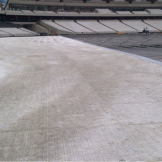 Manchester City Stadium protection installation - TPA