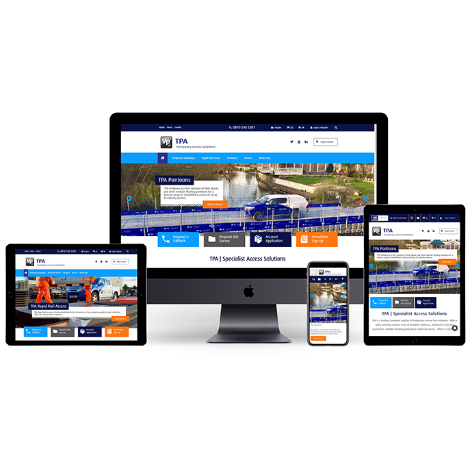 TPA Temporary Access Solutions Launch new divisional Website
